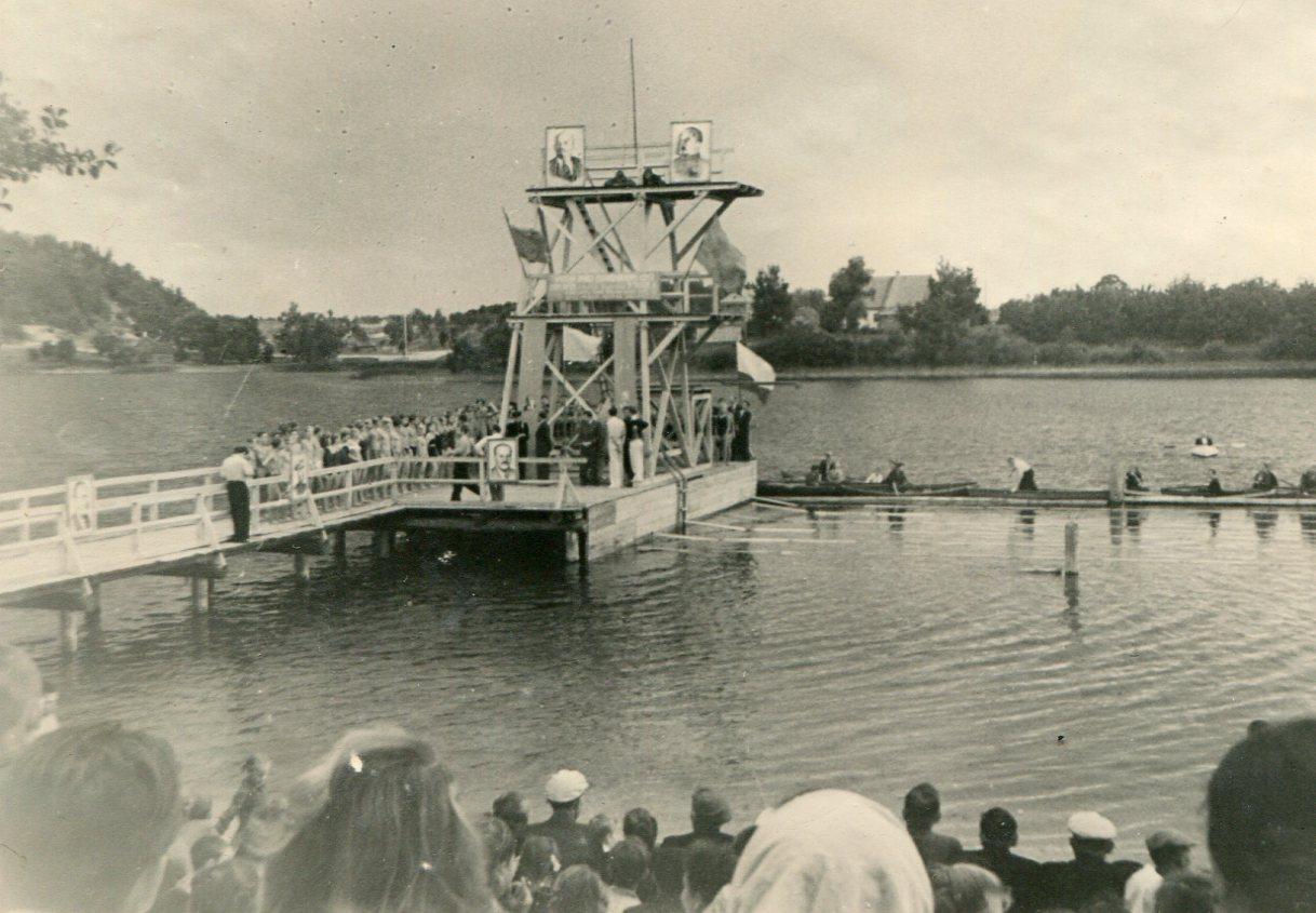 Tramplynas. 1952 m.