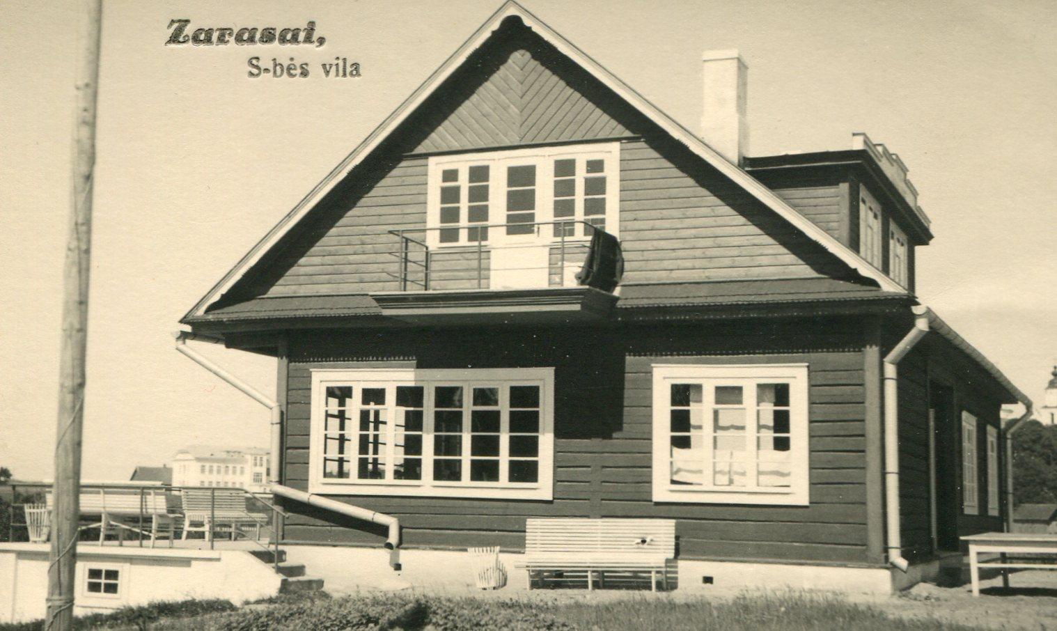 Savivaldybes vila Magučiuose. 1936